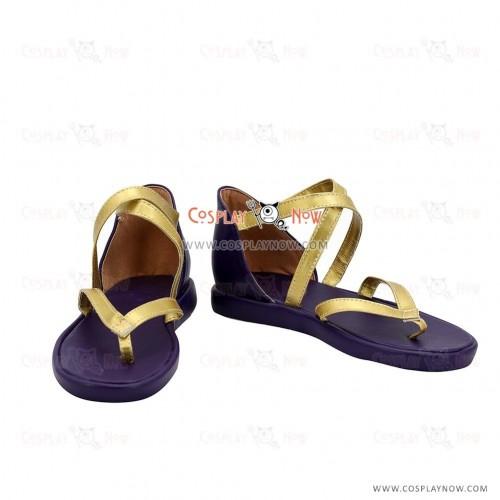 Tales of Berseria Rokurou Rangetsu Cosplay Shoes