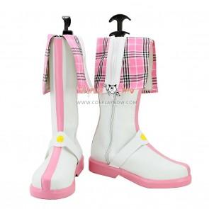 Hyperdimension Neptunia Cosplay Shoes Nepgear/Purple Sister Pink Boots