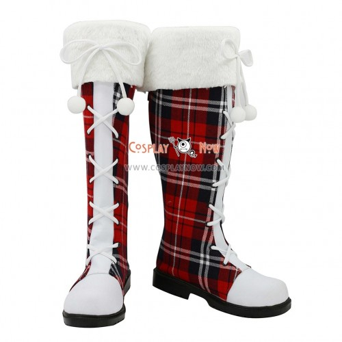 Love Live! Cosplay Shoes Christmas Boots