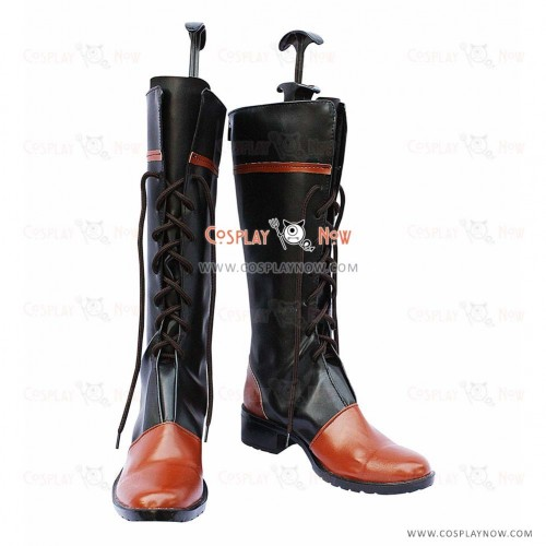 Black Butler Cosplay Shoes Ciel Common Boots