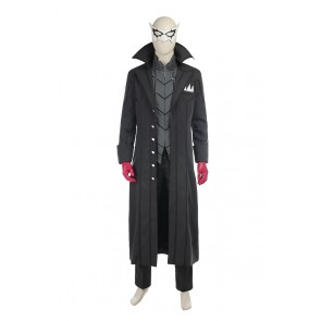Shin Megami Tensei Persona 5 Cosplay Protagonist Joker Costume