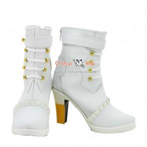 Macross Series Sheryl Nome Wedding Cosplay Shoes