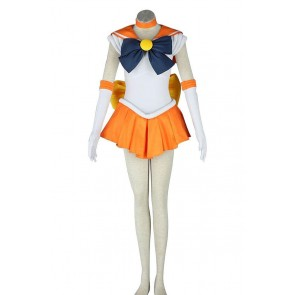 Sailor Venus Minako Aino Costume For Sailor Moon Cosplay