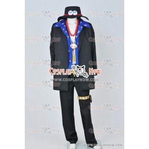 One Piece Cosplay Portgas D Ace Costume