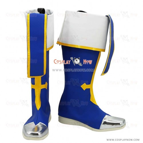 Blazblue Cosplay Shoes Noel Vermillion Boots