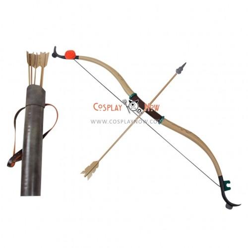 Brave Merida Bow Arrow Belt and Arrow Hoder PVC Replica Cosplay Props