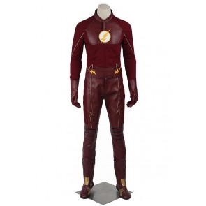 Barry Allen Costume For The Flash Season 2 Cosplay