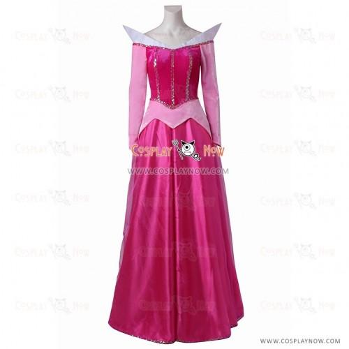 Disney Princess Aurora cosplay costume from Sleeping Beauty
