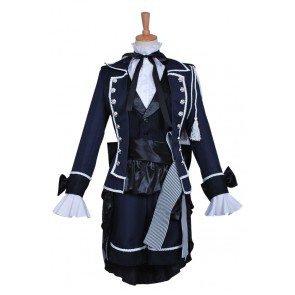 Earl Ciel Phantomhive Costume For Black Butler Kuroshitsuji Cosplay