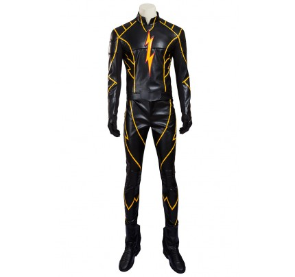 The Flash Flashpoint Barry Allen Cosplay Costume
