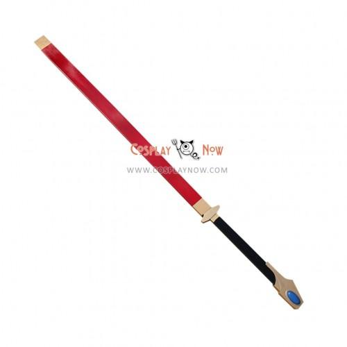 BLAZBLUE Hakumen Sword with Sheath PVC Cosplay Props