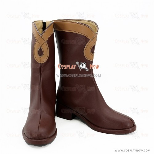 Mobile Suit Gundam: Iron-Blooded Orphans Cosplay Shoes Lafter Frankland Boots