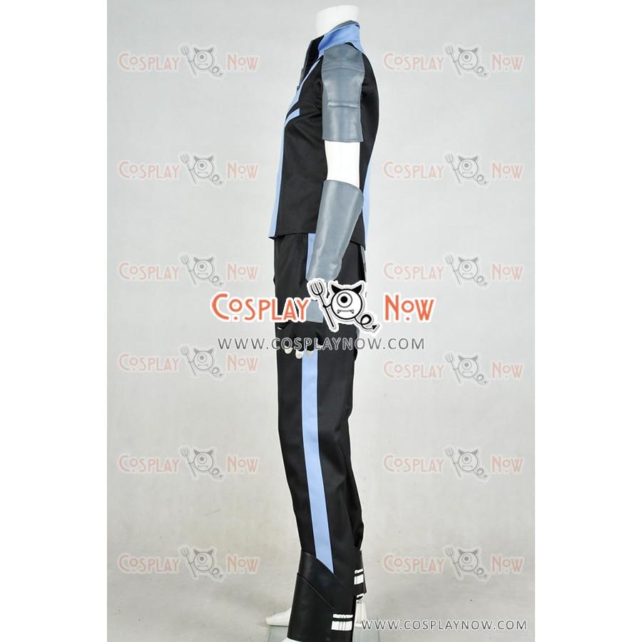 Free shipping NEW RWBY Mercury Black Uniform Suit Cosplay Costume