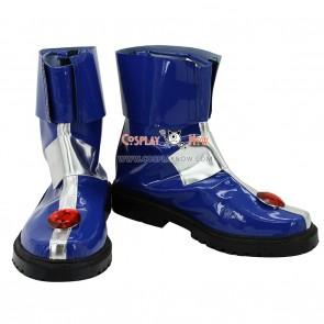 Magical Girl Lyrical Nanoha Striker Cosplay Shoes Caro Ru Lushe Boots