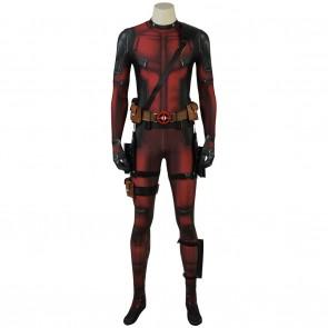 Marvel Deadpool cosplay costume Jumpsuit for man