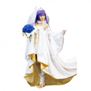 Love Live LoveLive Sonoda Umi Cosplay Costume Bridal Gown