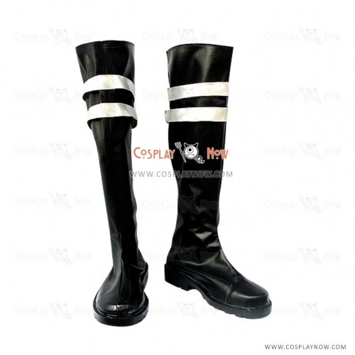 Dissidia Final Fantasy Cosplay Shoes Sephiroth Black Boots