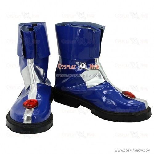 Magical Girl Lyrical Nanoha Striker Cosplay Shoes Caro Ru Lushe Boots