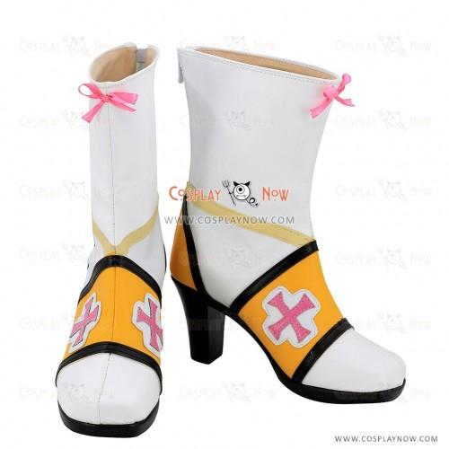 Elsword Cosplay Shoes Sakra Devanam Boots