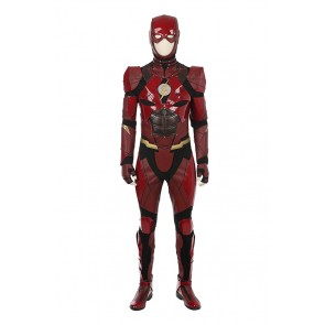 DC Justice League The Flash Barry Allen Cosplay Costume