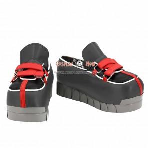 Kingdom Hearts II Roxas Black Cosplay Shoes