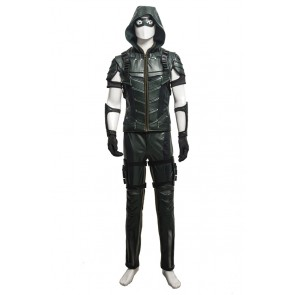 Green Arrow Oliver Queen Costume For Green Arrow Season 4 Cosplay