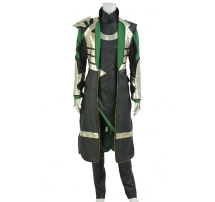 Thor 2 The Dark World Loki Cosplay Costume