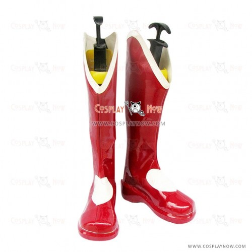 The King of Fighters KOF Cosplay Shoes Athena Asamiya Boots