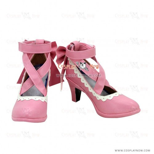 LoveLive Cosplay Shoes Valentine's Day Nico Yazawa Boots