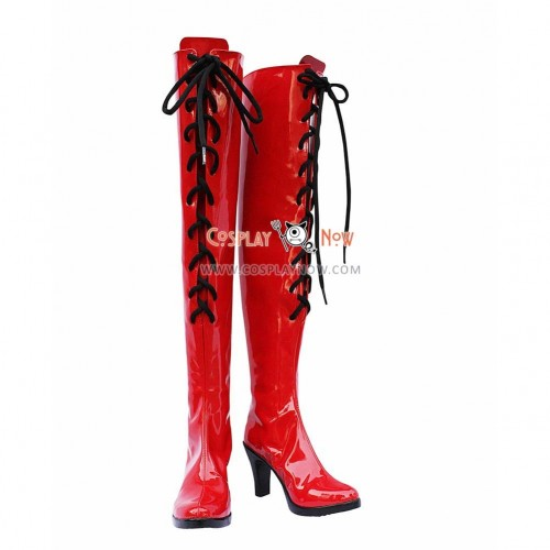 Vocaloid Cosplay Shoes Meiko Boots