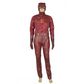 The Flash 2014 Barry Allen Cosplay Costume