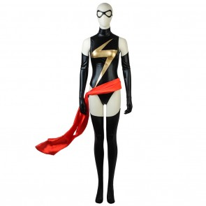 The Avengers Captain Marvel Cosplay Ms Marvel Costume