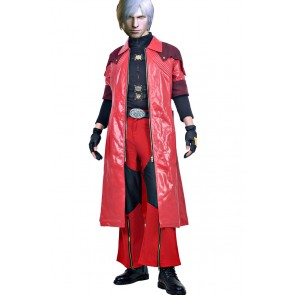 Dante Costume For Devil May Cry 4 Cosplay Uniform
