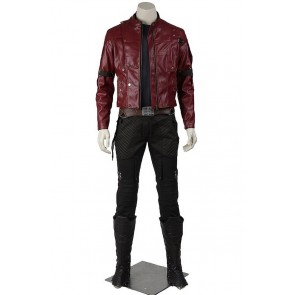 Star Lord Peter Quill Costume For Guardians Of The Galaxy Cosplay