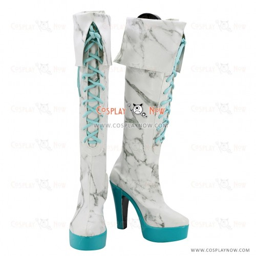 VOCALOID2 Cosplay shoes Calne Ca Karune Ca Shiie boots