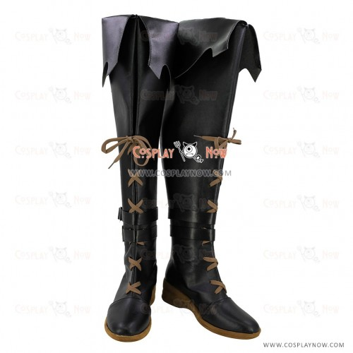 Final Fantasy Cosplay Shoes Dark Magician Boots