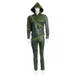 Oliver Queen Green Arrow Costume For Green Arrow Cosplay
