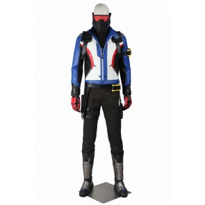 Soldier 76 John Jack Morrison Costume For Overwatch Cosplay Uniform
