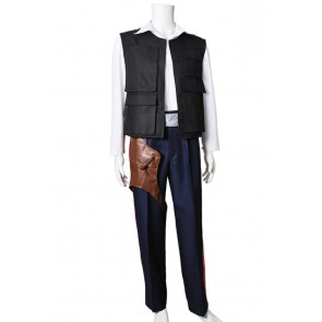 Star Wars Cosplay Han Solo Costume Uniform Full Set
