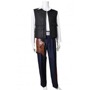 Star Wars Cosplay Han Solo Costume Uniform Full Set