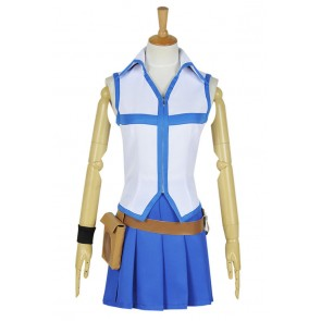 Fairy Tail Cosplay Wizard Lucy Heartfilia Costume