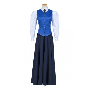 Doctor Who Series 7 The Crimson Horror Jenny Flint Cosplay Costume