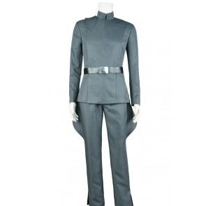 Star Wars Imperial Stormtrooper Officer Admiral Cosplay Costume Gray