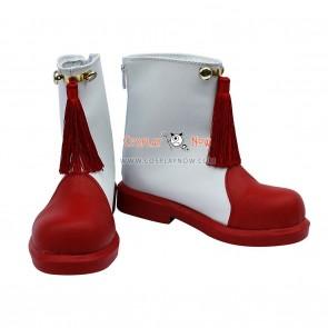 Cardcaptor Sakura Sakura Artificial Leather Short Cosplay Boots