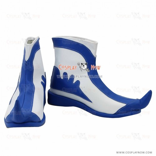 Blade & Soul Cosplay Blue and White porcelain Shoes