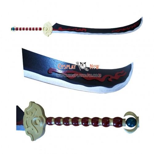 Dynasty Warriors Zhou Yu 's Big Swrod Cosplay Props