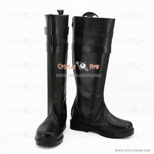 K Return Of Kings Cosplay Shoes Mishakuji Yukari Black Boots