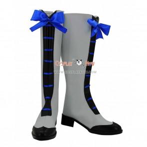 Black Butler Season 3 Cosplay Shoes Ciel Phantomhive Gray Boots