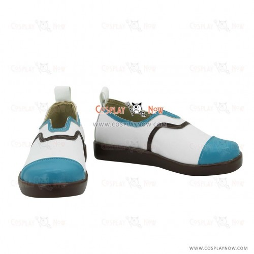 League of Legends LOL Academy Ahri The Nine Tailed Fox White Cosplay Shoes