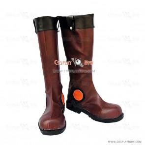Yu-Gi-Oh! Cosplay Shoes Yusei Fudo Brown Boots